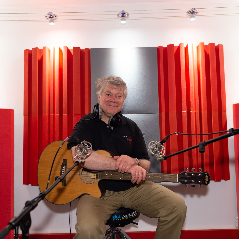 Martin Watson at SoundReplay recording studio